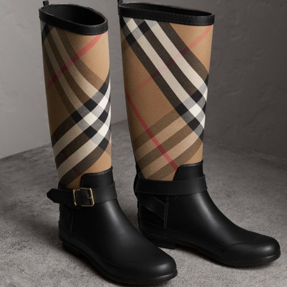 89ce99145ea Womens BURBERRY Rainboots